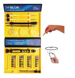 Kit De Chave Para Celular Manutenção Asistência it-tblue Le-960